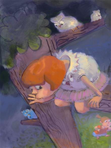 Ilustracija Skrivalnice