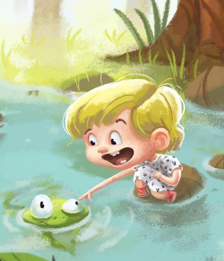Digitalna otroška ilustracija