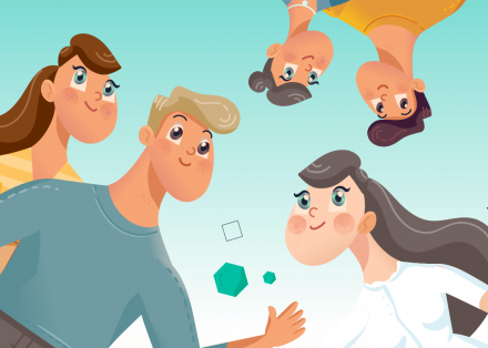Set poslovnih karakterjev